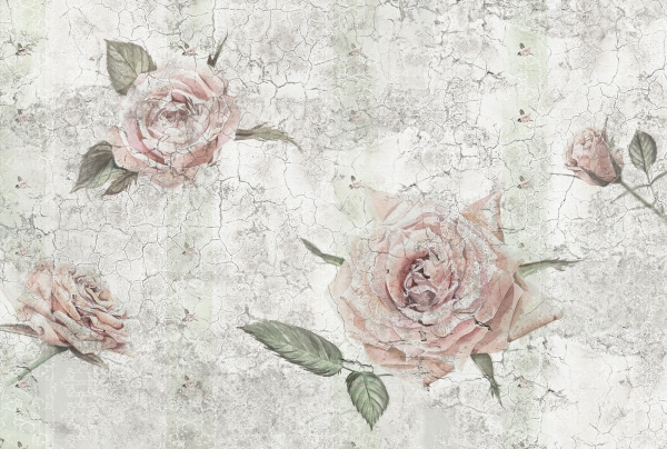 Fototapet XXL4-049 Trandafiri vintage [0]