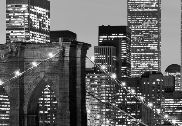 Fototapet 00957 Manhattan noaptea [1]