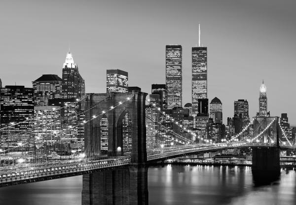Fototapet 00957 Manhattan noaptea [0]