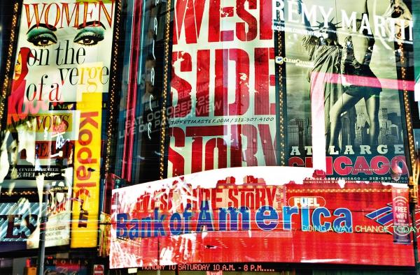 Fototapet 00642 Times Square Neon Stories 0