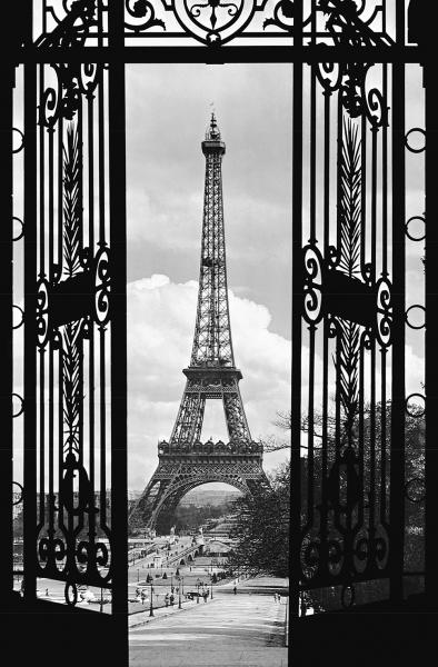 Fototapet 00644 Turnul Eiffel anul 1909 [0]