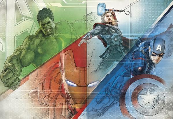 Fototapet 8-456 Avengers Graphic Art [0]