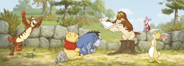 Fototapet 1-412 Prima lectie cu Winnie [0]