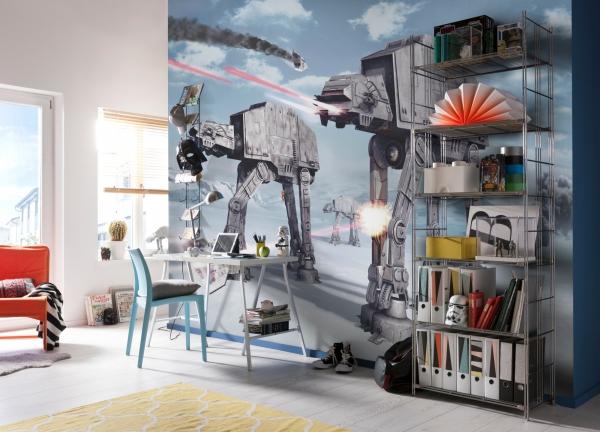 Fototapet 8-481 STAR WARS Battle of Hoth [1]