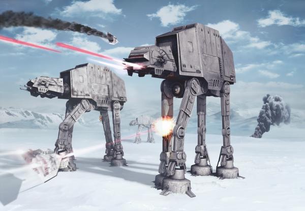 Fototapet 8-481 STAR WARS Battle of Hoth [0]