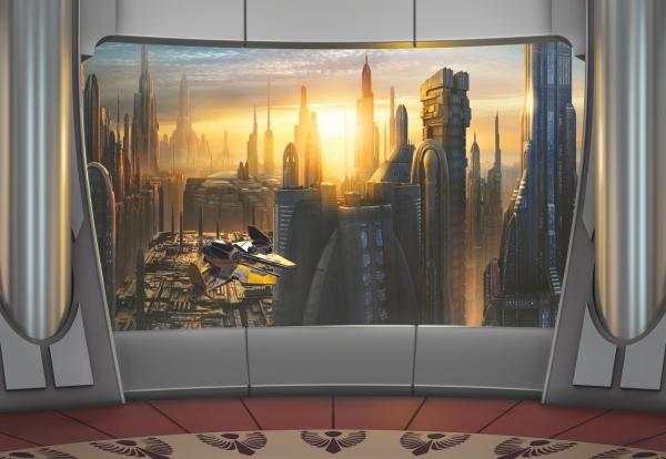 Fototapet 8-483 STAR WARS Coruscant View [0]