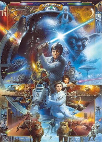 Fototapet 4-441 STAR WARS Luke Skywalker Collage [0]