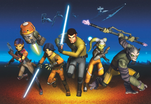 Fototapet 8-486 STAR WARS Rebels Run [0]