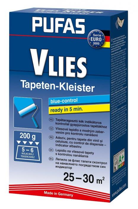 Adeziv tapet - Pufas Vlies blue-control 0