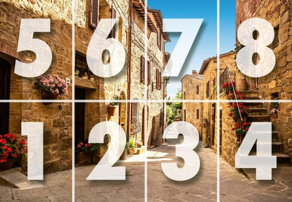 Fototapet 00168 Sat Toscan [3]
