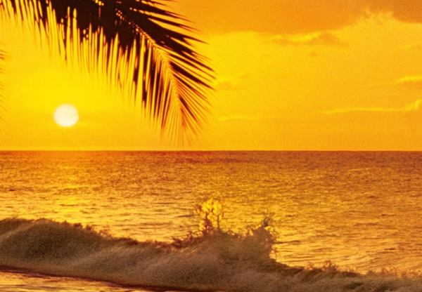 Fototapet 00218 Apus de soare in Pacific [1]