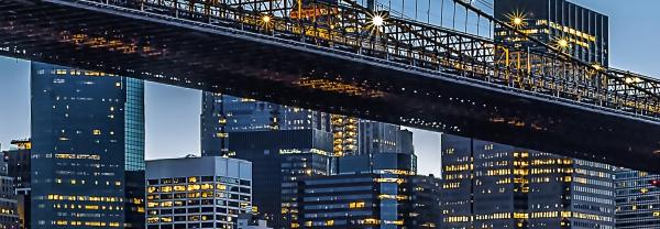 Fototapet 00863 Blue Hour over NY [1]