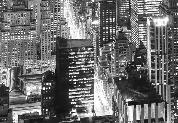 Fototapet 00956 New York - alb negru [1]