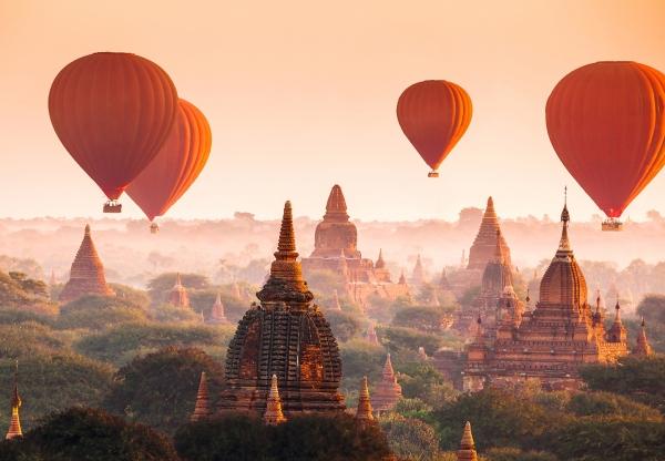 Fototapet 00965 Baloane in Bagan 0