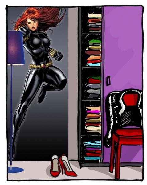 Fototapet 1430 Black Widow 1