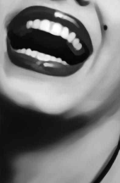 Fototapet 00667 Marilyn Monroe (alb negru) 1
