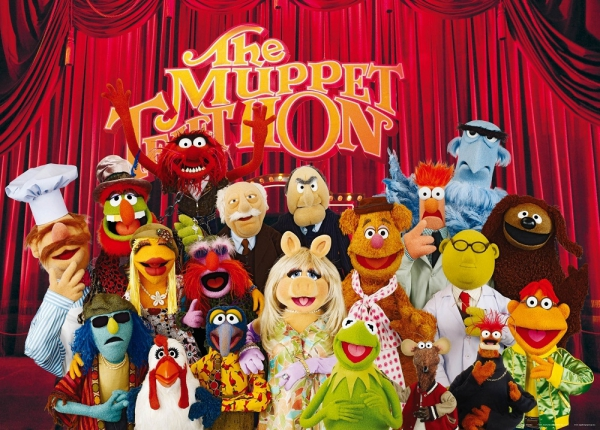 Fototapet FTDm 0707 Papusile Muppets [0]