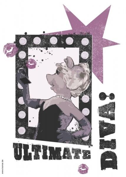 Sticker decorativ 14003 Diva 1