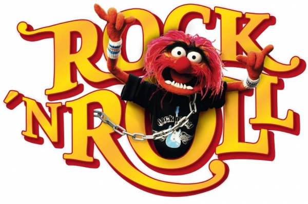 Sticker decorativ 14010 Muppets Rock'n Roll [1]