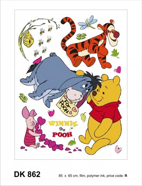 Sticker decorativ DK862 Winnie & prietenii [0]