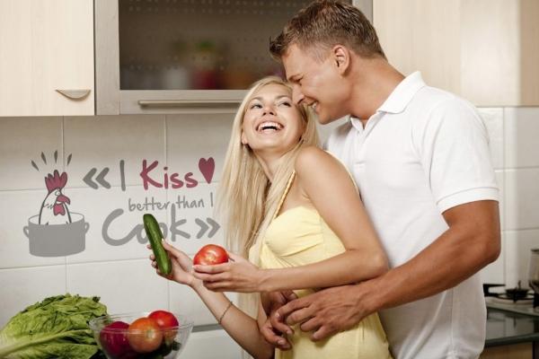 Sticker decorativ 17801 Kiss & Cook 0