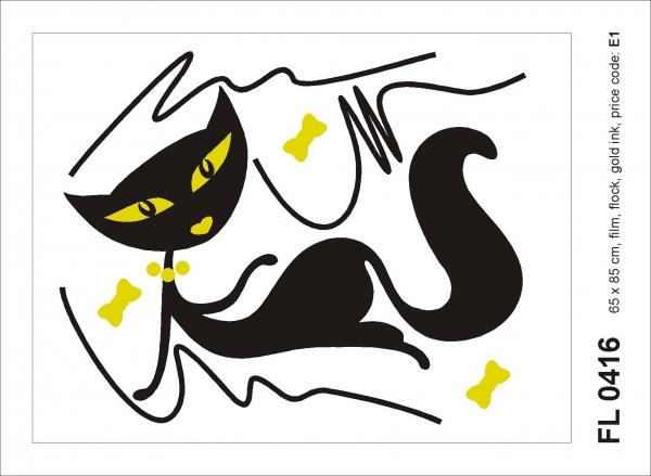 Sticker decorativ FL 0416 Pisica [0]