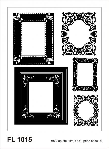 Sticker decorativ FL1015 Rame foto 0
