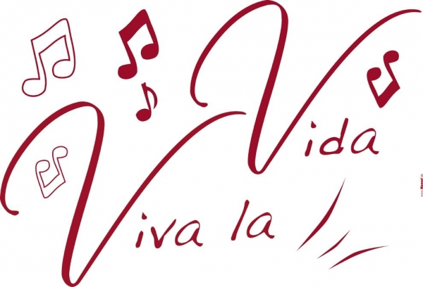 Sticker decorativ 17709 Viva la Vida 1