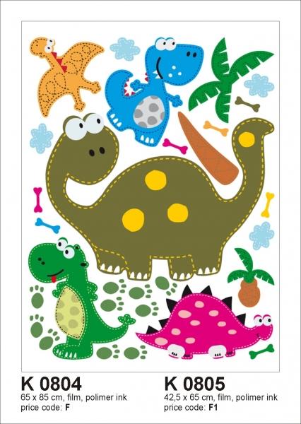 Sticker decorativ K0805 Dinozauri [0]