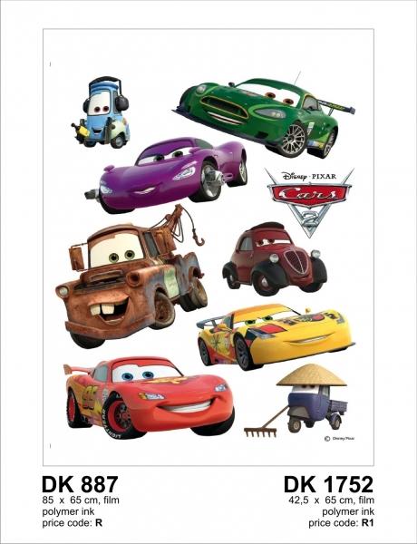 Sticker decorativ DK887 Cars 0