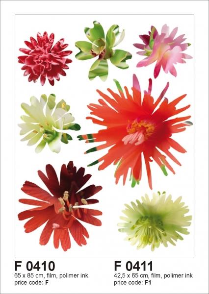 Sticker decorativ F0411 Flori [0]