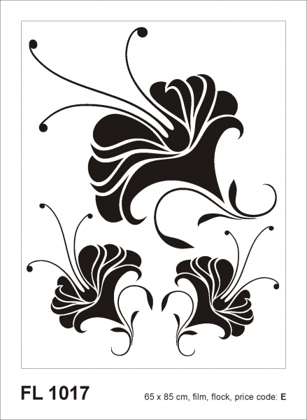 Sticker decorativ FL1017 Floral [0]
