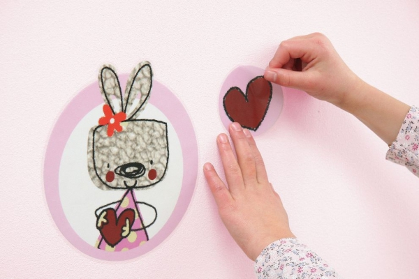 Sticker decorativ 17000 Mon Petit Coeur [2]