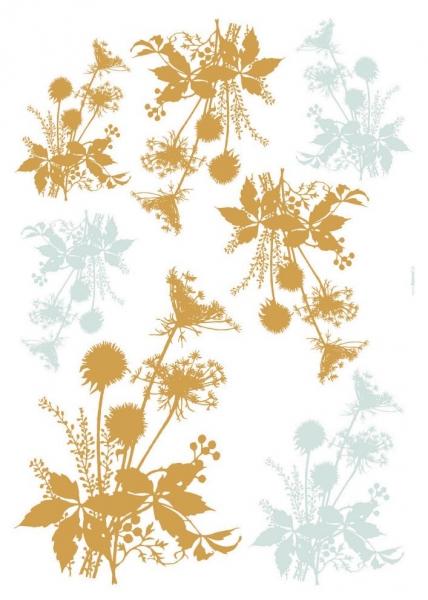 Sticker decorativ 19002 Flori de camp 1