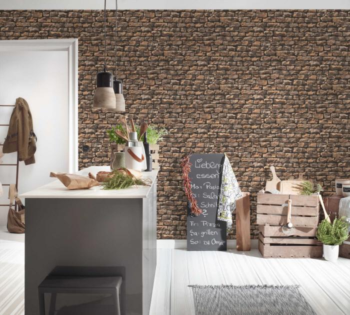 Tapet 9079-12 Wood & Stone [6]