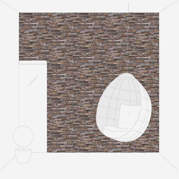 Tapet 9142-17 Wood 'n' Stone [5]