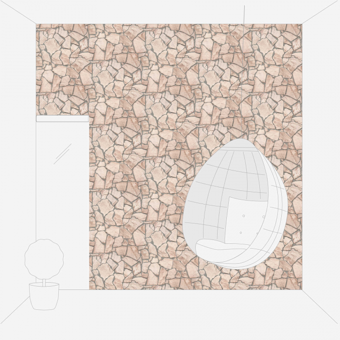 Tapet 9273-23 Wood 'n' Stone [5]