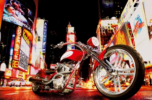 Fototapet 00653 Midnight Rider0