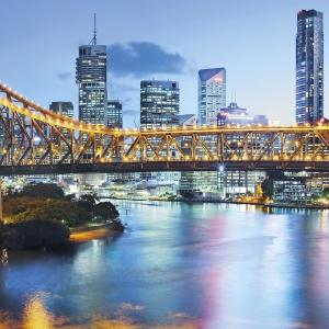 Fototapet XXL2-010 Peisaj urban Brisbane [1]