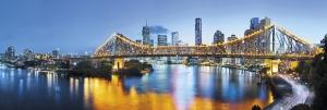 Fototapet XXL2-010 Peisaj urban Brisbane [0]