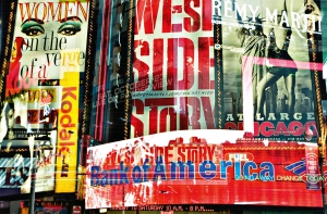 Fototapet 00642 Times Square Neon Stories0