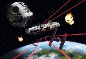 Fototapet 8-489 STAR WARS Millennium Falcon [0]