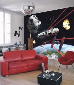 Fototapet 8-489 STAR WARS Millennium Falcon [1]