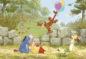Fototapet 8-460 Winnie Pooh Ballooning [0]