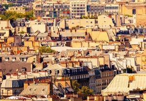 Fototapet 00950 Paris - panorama1