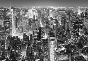 Fototapet 00956 New York - alb negru [0]