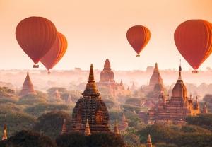 Fototapet 00965 Baloane in Bagan0
