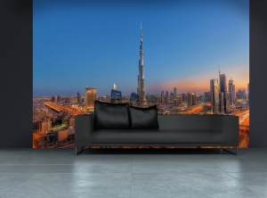 Fototapet 00973 Dubai - Burj Khalifah [2]