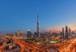 Fototapet 00973 Dubai - Burj Khalifah [0]