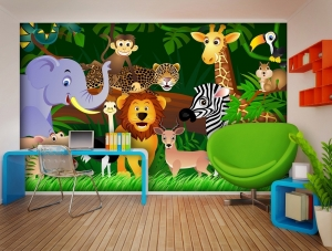 Fototapet FTS 1307 Animalele junglei1